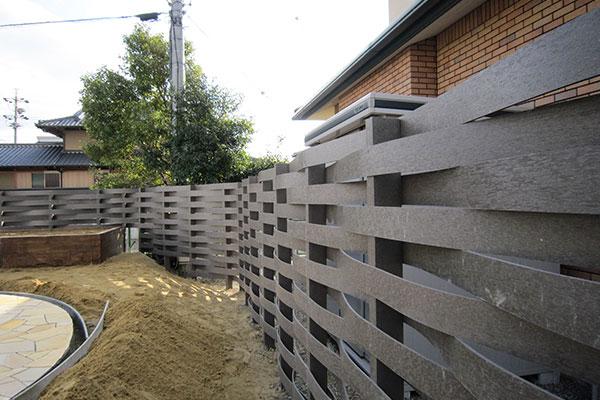 住宅・庭の囲い板として